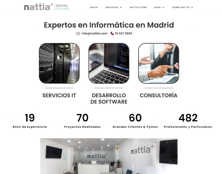 empresa experta en el desarrollo web en madrid